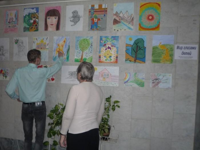 Портреты детей в рисунках
